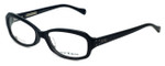 Lucky Brand Designer Eyeglasses Savannah in Black 55mm :: Custom Left & Right Lens