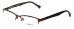 Lucky Brand Designer Eyeglasses Fleetwood in Chocolate 53mm :: Progressive