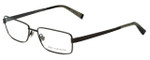 John Varvatos Designer Eyeglasses V134 in Gunmetal 54mm :: Progressive