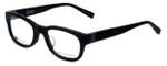 John Varvatos Designer Eyeglasses V337AF in Black 50mm :: Progressive
