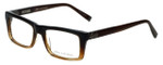 John Varvatos Designer Eyeglasses V346 in Brown 52mm :: Progressive