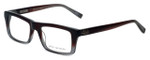 John Varvatos Designer Eyeglasses V346 in Mahogany 52mm :: Progressive