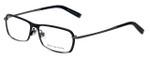 John Varvatos Designer Eyeglasses V136 in Black 55mm :: Rx Bi-Focal