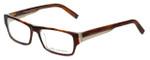 John Varvatos Designer Reading Glasses V332 in Amber-Tortoise 56mm