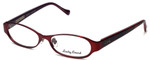 Lucky Brand Designer Eyeglasses Mckenzie in Matte Red 52mm :: Custom Left & Right Lens