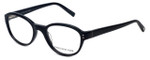 Jones New York Designer Eyeglasses J752 in Black 49mm :: Custom Left & Right Lens