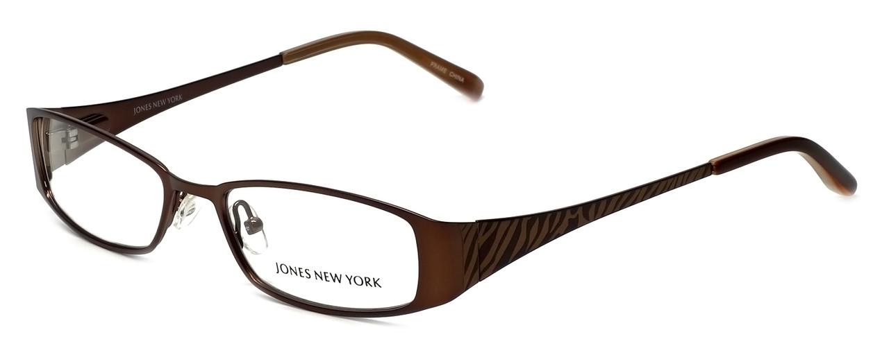 Designer Eyeglass Frames Nyc : Jones New York Designer Eyeglasses J461 in Brown 51mm ...