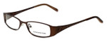 Jones New York Designer Eyeglasses J461 in Brown 51mm :: Progressive