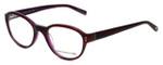 Jones New York Designer Eyeglasses J752 in Brown-Purple 49mm :: Rx Bi-Focal