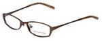 Jones New York Designer Reading Glasses J122 in Brown 49mm