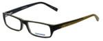 Converse Designer Eyeglasses Marauder in Olive 52mm :: Custom Left & Right Lens