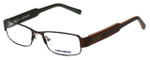 Converse Designer Eyeglasses Here to Here in Brown 50mm :: Rx Single Vision