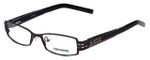 Converse Designer Eyeglasses Mojave in Brown 50mm :: Rx Single Vision