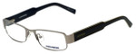 Converse Designer Eyeglasses Here to Here in Silver 50mm :: Rx Bi-Focal