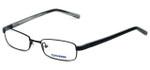 Converse Designer Eyeglasses Turmoil in Black 50mm :: Rx Bi-Focal