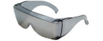 CALABRIA 3000M Economy Fitover with UV PROTECTION IN SILVER MIRROR