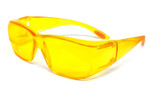 8533 Over Glasses UV Protection in Yellow