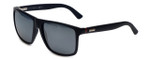 Gucci Designer Sunglasses GG1075-DL54X in Matte Black & Flash Mirror Lens