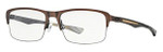 Oakley Designer Eyeglasses Hollowpoint 0.5 OX5091-0352 in Antique Copper 52mm :: Progressive