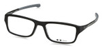 Oakley Designer Eyeglasses Chamfer OX8039-0155 in Satin Black 55mm :: Progressive