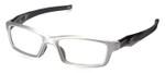 Oakley Designer Reading Glasses Crosslink Pro OX3127-0753 in Brushed Aluminum 53mm