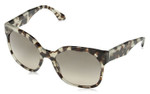 Prada Designer Sunglasses PR10RS-UAO3D0 in Brown-Spotted Opal & Brown Gradient Lens