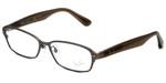 Ray-Ban Designer Eyeglasses RX8707-1073 in Gunmetal & Brown 50mm :: Rx Bi-Focal