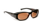 Haven Designer Fitover Sunglasses Solana in Tortoise & Polarized Amber Lens (MEDIUM/LARGE)