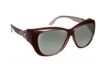 Haven Designer Fitover Sunglasses Manhattan in Red & Polarized Grey Lens (MEDIUM/LARGE)