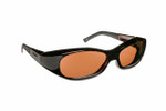Haven Designer Fitover Sunglasses Avalon in Tortoise & Polarized Amber Lens (SMALL)