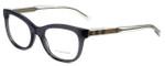 Burberry Designer Eyeglasses BE2213-3544-53mm in Transparent-Black 53mm :: Rx Single Vision