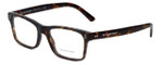 Burberry Designer Eyeglasses BE2222-3536 in Matte-Tortoise 53mm :: Rx Single Vision