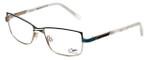 Cazal Designer Eyeglasses 4215-001 in Turquoise 53mm :: Custom Left & Right Lens