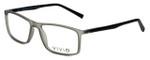 Calabria Viv Designer Eyeglasses 248 in Grey-Black 55mm :: Custom Left & Right Lens