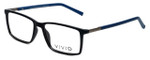 Calabria Viv Designer Eyeglasses 239 in Black-Navy 53mm :: Rx Single Vision