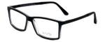 Calabria Viv Designer Eyeglasses 243 in Black 53mm :: Rx Single Vision
