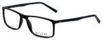 Calabria Viv Designer Eyeglasses 248 in Black-Blue 55mm :: Rx Single Vision