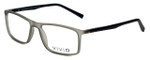 Calabria Viv Designer Eyeglasses 248 in Grey-Black 55mm :: Rx Single Vision