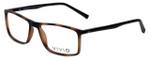 Calabria Viv Designer Eyeglasses 248 in Tortoise-Black 55mm :: Rx Single Vision