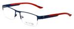 Calabria Viv Designer Eyeglasses 390 in Navy 54mm :: Rx Single Vision