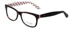 Calabria Viv Designer Eyeglasses 870 in Demi-White 55mm :: Rx Single Vision