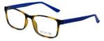 Calabria Viv Designer Eyeglasses 241 in Tortoise-Blue 53mm :: Progressive