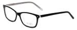 Calabria Viv Designer Eyeglasses 869 in Black-Clear 51mm :: Progressive
