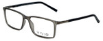 Calabria Viv Designer Eyeglasses 239 in Grey-Black 53mm :: Rx Bi-Focal