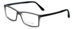 Calabria Viv Designer Eyeglasses 243 in Grey 53mm :: Rx Bi-Focal
