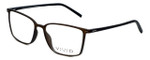 Calabria Viv Designer Eyeglasses 2016 in Grey-Black 55mm :: Rx Bi-Focal
