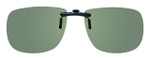 Montana Eyewear Clip-On Sunglasses C2A in Polarized G15 Green 54mm