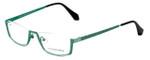 Eyefunc Designer Eyeglasses 505-72 in Green 51mm :: Custom Left & Right Lens