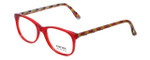 Eyefunc Designer Eyeglasses 8072-07 in Red & Multi 49mm :: Custom Left & Right Lens
