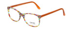 Eyefunc Designer Eyeglasses 8072-07B in Multi Orange 49mm :: Custom Left & Right Lens